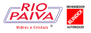 Vidraçaria Rio Paiva Logo